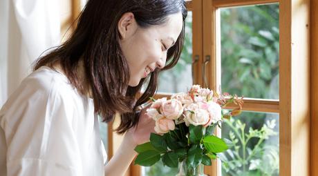誕生日にお花をプレゼント
